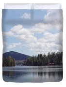 Lake Placid Duvet Cover by JOHN TELFER