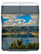 Lake Roosevelt Duvet Cover by Robert Bales