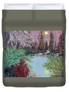 Lake Tranquility Duvet Cover by Alys Caviness-Gober