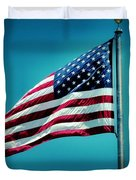 Land Of The Free Duvet Cover by Dan Sproul