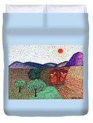 Landscape Duvet Cover by Sarah Loft