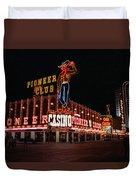 Las Vegas 1983 Duvet Cover by Frank Romeo