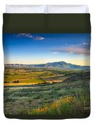 Late Spring Time View Duvet Cover by Robert Bales