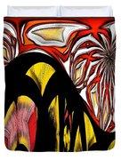 Lava Flow Duvet Cover by Alec Drake