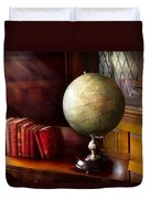 Lawyer - A World Traveler Duvet Cover by Mike Savad