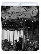 Le Carrousel Duvet Cover by David Rucker