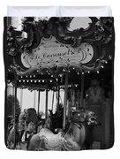 Le Carrousel Duvet Cover by David Rucker