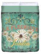 Le Marche Aux Fleurs 6 Duvet Cover by Debbie DeWitt