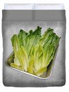 Leaf Lettuce Duvet Cover by Andee Design