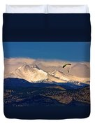 Leap Of Faith Duvet Cover by James BO  Insogna