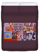 Led Zeppelin  Collage Number Two Duvet Cover by Donna Wilson