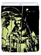 Led Zeppelin No.05 Duvet Cover by Caio Caldas