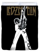 Led Zeppelin No.06 Duvet Cover by Caio Caldas
