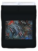 Let Freedom Run Majestic Series #71 Duvet Cover by AmyLyn Bihrle