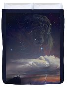 Let The Wind Blow Duvet Cover by Cliff Hawley
