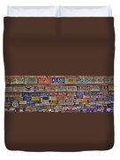 License To Drive Duvet Cover by Debra and Dave Vanderlaan
