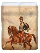 Lieutenant Colonel James Thomas Brudenell  Duvet Cover by Alfred de Prades