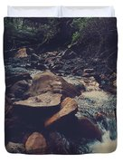 Life Flows On Duvet Cover by Laurie Search