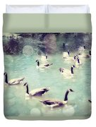 Life Is But A Dream Duvet Cover by Amy Tyler