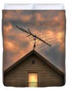 Light In Attic Window Duvet Cover by Jill Battaglia