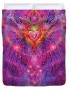 Light Of Passion Reborn Duvet Cover by Alixandra Mullins