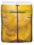 Light Of Salvation Duvet Cover by Wayne Cantrell