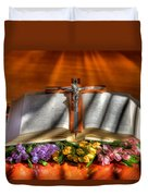 Light Of The World Duvet Cover by Donna Kennedy