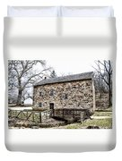 Lightfoot Mill At Anselma Chester County Duvet Cover by Bill Cannon