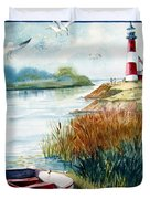 Lighthouse 1 Duvet Cover by Marilyn Smith