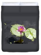 Lilly Lake Duvet Cover by Carey Chen