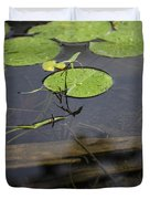 Lilly Pad Duvet Cover by John McGraw