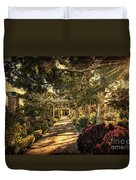 Linnaeus Teaching Garden Duvet Cover by Tamyra Ayles