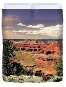 Lipan Point  Grand Canyon Duvet Cover by Bob and Nadine Johnston