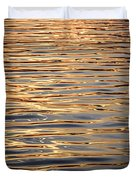 Liquid Gold Duvet Cover by Elena Elisseeva