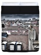Lisbon Rooftops I Duvet Cover by Marco Oliveira