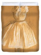 Little Dancer Duvet Cover by Edgar Degas