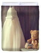 Little Girls Bedroom Duvet Cover by Amanda And Christopher Elwell