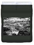 Little Roundtop Overlooking Devils Den Duvet Cover by Paul W Faust -  Impressions of Light
