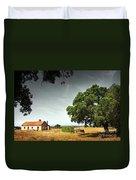 Little Rural House Duvet Cover by Carlos Caetano
