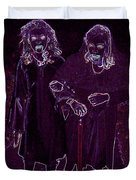 Little Vampires Duvet Cover by First Star Art