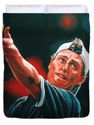Lleyton Hewitt 2  Duvet Cover by Paul Meijering