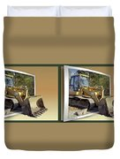 Loader - Cross Your Eyes And Focus On The Middle Image Duvet Cover by Brian Wallace