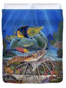 Lobster Sanctuary Re0016 Duvet Cover by Carey Chen