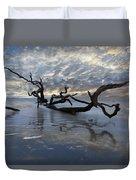 Loch Ness Duvet Cover by Debra and Dave Vanderlaan