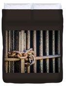 Locked Out Duvet Cover by Carolyn Marshall