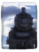 Locomotive 5030 Type 4 6 4 Composite View Duvet Cover by Thomas Woolworth