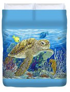 Logging Sea Time Duvet Cover by Danielle  Perry