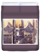 Lone Guardian Duvet Cover by Max Good