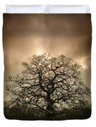 Lone Tree Duvet Cover by Amanda Elwell