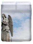 Lonely Angel Duvet Cover by Jennifer Lyon